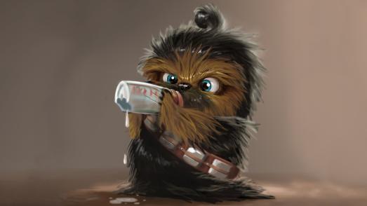 Chewbacca-de-bebe